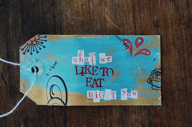 Eat card front