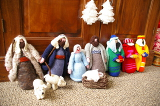 Knittednativity