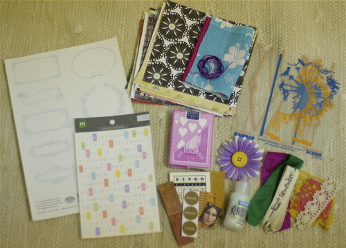 mini art journal KIT
